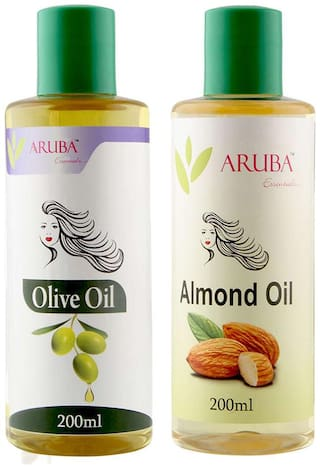 Aruba Essentials Olive & Almond Oil Each 200 ml