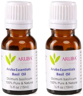 Aruba Essentials Basil  Undiluted Oil (30 ml)