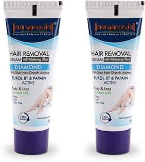Aryanveda Diamond Hair Removal Cream 40g (Pack of 2)