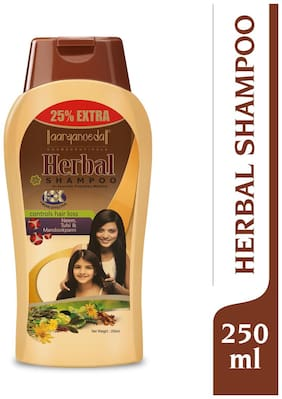 Aryanveda Herbals Unisex Hair Loss Control Neem And Tulsi Shampoo for Men & Women 250 ml (Pack Of 1)