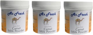 As Fresh Freeze Dried Camel Milk Powder - BUY 2 GET 1 FREE - 200+100 gms