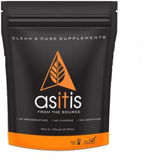 AS-IT-IS Nutrition L-Arginine Powder for Muscle Building & Endurance - 250g (Pack of 1)