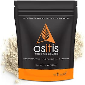 AS-IT-IS Nutrition Pea Protein Isolate | Designed for Meal Supplementation | Easy To Digest - Vegan & Gluten-Free (1000gms)