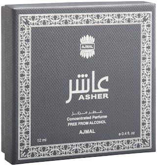 Asher Concentrated Oriental Perfume Free From Alcohol 12ml for Unisex