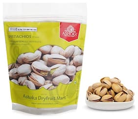 Ashoka Dry Fruit Mart Premium Californian Roasted and Salted Pistachios (Silver) 500 g