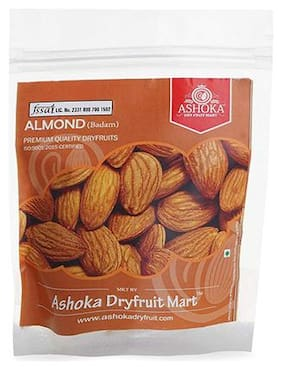 Ashoka Dry Fruit Mart American Almonds Medium (Silver) 1 kg