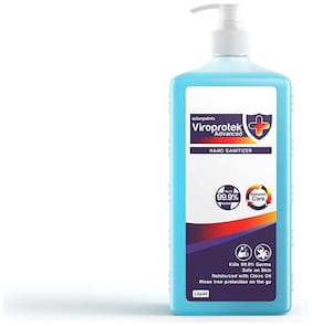 Asian Paints 'Viroprotek' Pro Advanced Liquid Hand Sanitizer (Clove oil Fortified)-1 L