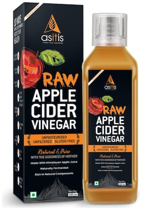 Asitis Nutrition Raw Apple Cider Vinegar with The Goodness of Mother 500ml