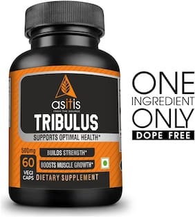 AS-IT-IS Nutrition Tribulus Boosts Muscle Growth 500Mg 60 Capsules