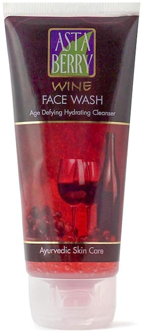 Astaberry Wine Face Wash 100G Pack Of One