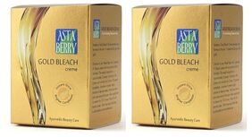 Astaberry Gold Extra Glow Bleach Creme (42 gm) (Pack of 2)