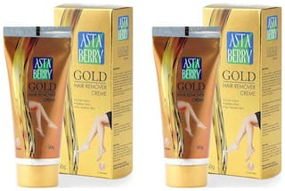 Astaberry Gold Hair Remover (60 gm) Pack of 2