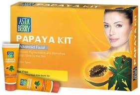 Astaberry Papaya Kit Advance Facial Kit 55 gm + Free Get Astaberry Skin Face Wash 60 ml