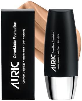Auric CoverMatte Foundation Light Almond