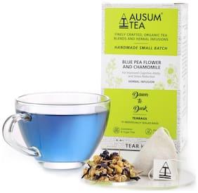 Ausum Tea Blue Pea Flower and Chamomile - 15 Teabags