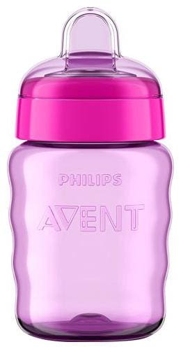 Avent Classic Spout Cup Red/Purple 260 ml
