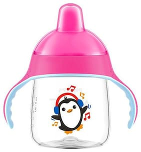 Avent Premium Spout Cup Pink 260 ml
