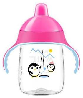 Avent Spout Cup - Premium  SCF755/07  Pink 330 ml