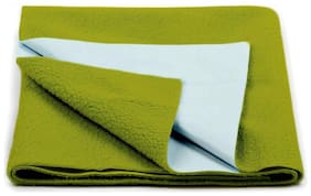 AVI Presents New Born Baby Dry Sheet Completely Water Proof and Reusable Mat Bed Protector Absorbent Dry Sheets (28x40inch) - Green