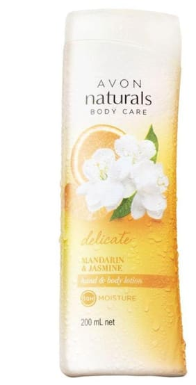 Avon Naturals Mandarin & Jasmine Hand & Body Lotion 200 ml