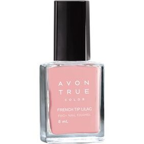 Avon True Color Nailwear Pro+  French Tip Lilac 8ml