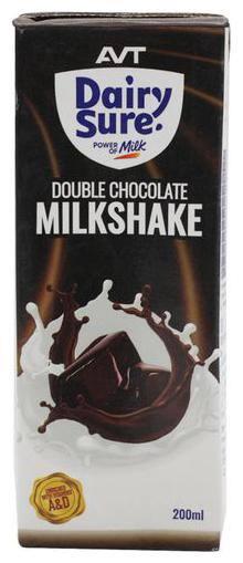 AVT Dairy Sure Double Chocolate Milkshake 200ml