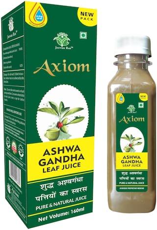 Axiom Ashwagandha Leaf Juice 160ml (Pack of 2)