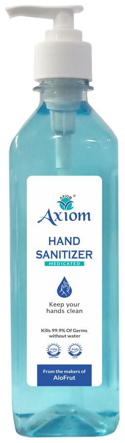 Axiom Medicated Hand Sanitizer 500ml(Push Pump)