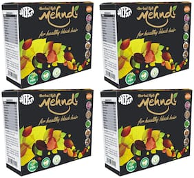 AYURVEDIC HERBAL KALI MEHENDI 100 g PACK OF 4