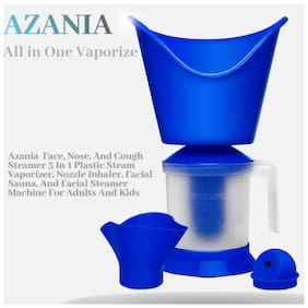 AZANIA 3 in 1 Nose Steamer Vaporizer Machine with 3 Attachments ( Assorted)