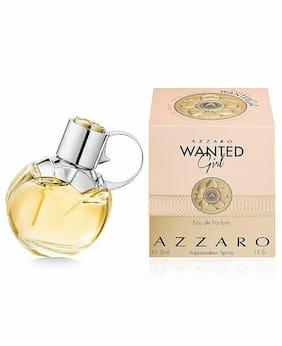 Azzaro WANTED Girl Eau de Parfum EDP Spray ~ 1 fl oz / 30 mL NEW in SEALED BOX