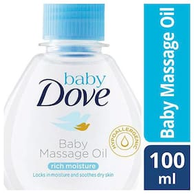 Baby Dove Baby Massage Oil - Rich Moisture 100 ml