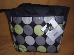 Baby Essentials Large Fashionable Diaper Tote Bag