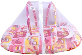 V.B.K Baby Mosquito Net Bed With Pillow