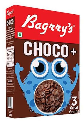 Bagrry'S Breakfast Cereal - Choco +, 3 Great Grains 375 gm
