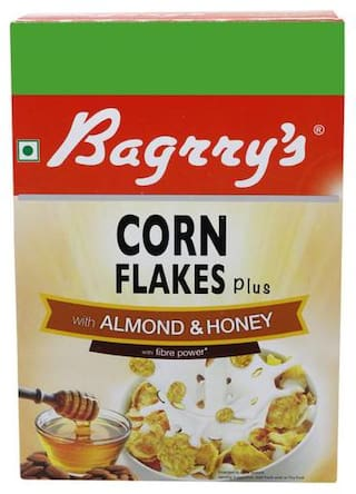 Bagrry'S Corn Flakes Plus - With Almond N Honey 300 g
