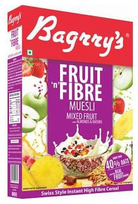 Bagrry'S Fruit N Fibre Muesli - Mixed Fruit 500 g