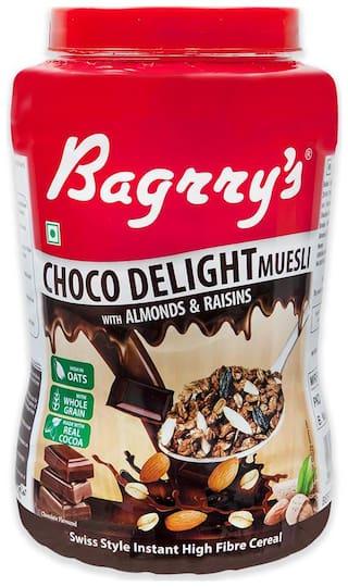 Bagrry's Healthy Crunch Choco Delite Muesli 1 kg Jar
