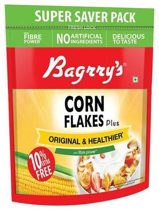 Bagrrys Corn Flakes Plus - Original & Healthier 800 gm