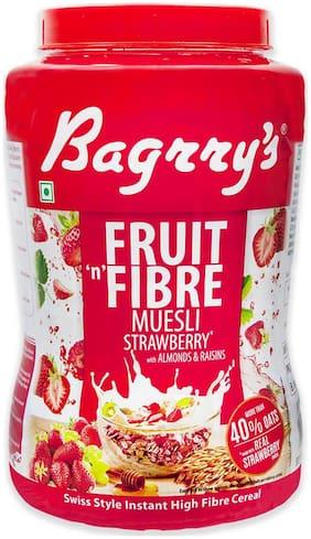 Bagrrys Fruit N Fibre Muesli - Strawberry 1 kg