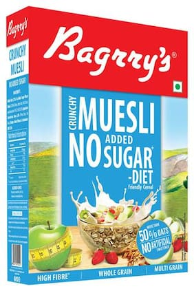 Bagrrys Muesli - Crunchy (No Added Sugar) 500 g