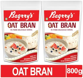Bagrrys Oat Bran Pouch;400gm- (pack of 2 )