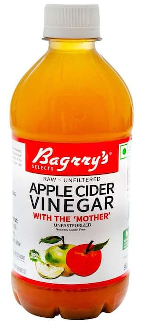 Bagrry's Apple Cider Vinegar With Mother- 500 ml