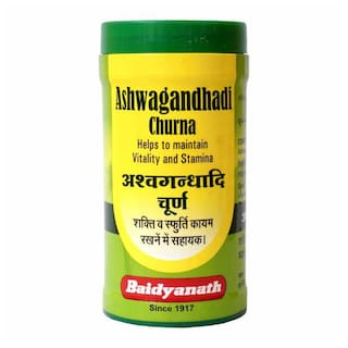Baidyanath Ashwagandhadi Churna 50 g (Pack of 1)