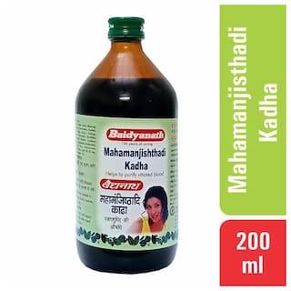 Baidyanath Mahamanjisthadi Kadha 200 ml (Pack of 1)