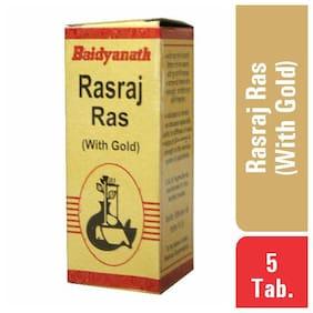 Baidyanath Rasraj Ras Gold Tabletslet 5 Tablets (Pack of 1)