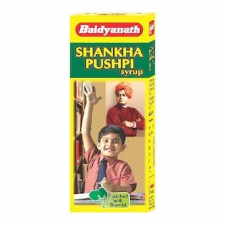 Baidyanath Shankhapushpi Syrup 100 ml (Pack of 1)