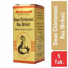 Baidyanath Swas Chintamani Ras 5 Tablets (Pack of 1)