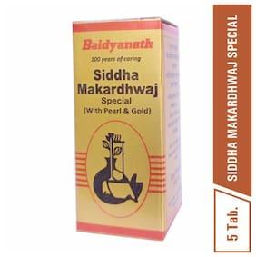 Baidyanath Siddha Makardhwaj Special 5 Tablets (Pack of 1)