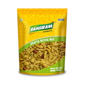 Bansiram Namkeen Khatta Mitha Mix 400g (Pack Of 1 )